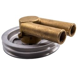 Raw Sea Water Pump With Double V-belt Pulley Fit Volvo Penta 21214596 And 3858229