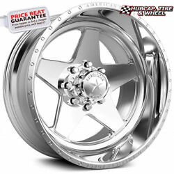 American Force Law Ck13 Concave Polished 30x16 Truck Wheel 8 Lug Set Of 4