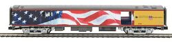 Mth 20-64089 Union Pacific O Scale Premier 70' Streamlined Baggage Car Smooth