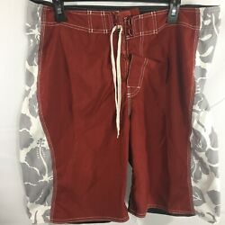 American Eagle Outfitters Mens Beach Sand Flex Swim Board Shorts Size 36 Surf
