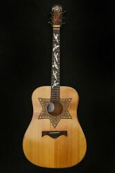 Blueberry Special Order Dreadnought Guitar Judaica 90 Days Delivery