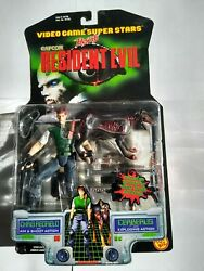 Complete Set Of Toy Biz Resident Evil Series 1 And 2 Action Figures New
