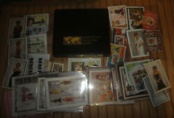 International Collectors Society Princess Diana Stamp Collection In Case