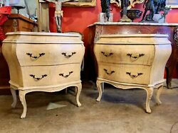 Early 20th Century Venetian Style Commodes - A Pair