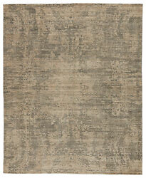 Jaipur Living Lizea Handmade Abstract Gray/ Beige Area Rug 8and039x11and039