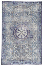 Jaipur Living Modify Hand-knotted Medallion Blue/ Gray Area Rug 8'x11'
