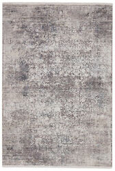 Jaipur Living Aster Oriental Gray/ White Area Rug 6and039x9and039