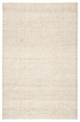 Jaipur Living Limon Indoor/ Outdoor Solid Ivory/ Gray Area Rug 12and039x15and039