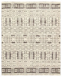 Jaipur Living Origins Hand-knotted Tribal Ivory/ Gray Area Rug 8and039x11and039
