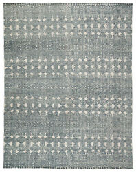 Jaipur Living Abelle Hand-knotted Medallion Teal/ Light Gray Area Rug 9and039x13and039