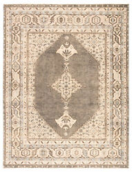 Jaipur Living Farwell Hand-knotted Medallion Blue/ Ivory Area Rug 8'x10'