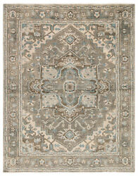 Jaipur Living Flynn Hand-knotted Medallion Gray/ Blue Area Rug 6and039x9and039