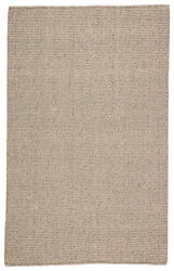 Jaipur Living Chael Natural Solid Gray/ Beige Area Rug 10and039x14and039