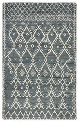 Jaipur Living Zola Hand-knotted Trellis Blue/ Ivory Area Rug 8and039x10and039