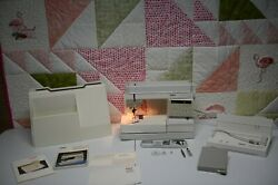 Pfaff Creative 1473 Cd Sewing Machine W Manuals Pedal Cover With Dual Feed