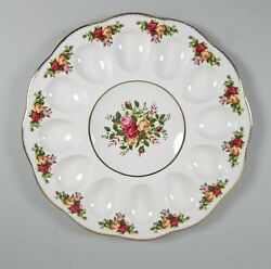 Royal Albert China Old Country Roses Deviled Egg Plate