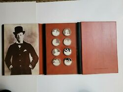 Royal Mint Sir Winston Churchill Silver Proof Medals Years Of Preparation 12 Oz