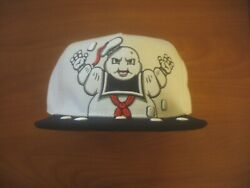 Ghostbusters Stay Puft Marshmallow Man Snapback Hat Cap Concept One Accessories