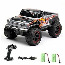 Rc Cars Outdoor Remote Control Trucks For Kids 112 Scale Monster Hobby Rc Grey