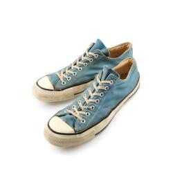 Converse Chuck Taylor Sneakers 1 Star Heel Patch Sax Menand039s Size 11h 70s Vintage
