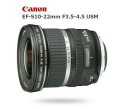 Used Canon Ef-s10-22mm F3.5-4.5 Usm