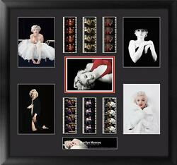 Marilyn Monroe Large Film Cell Montage Series 1 With Milton H Greene Photos