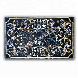 4and039x3and039 Modern Marble Dining Table Top Furniture Inlay Marquetry Patio Decor E1001