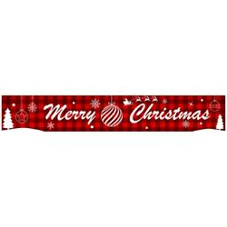 Christmas Ornament Letter Banner Decoration Holiday Party Atmosphere Layout A3v4