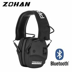 Electronic Earmuff Bluetooth Safety Shooting Hunting Protection Noise Reduction