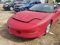 Trunk/hatch/tailgate Trans Am Moulded-in Spoiler Fits 93-02 Firebird 472634