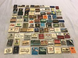Lot 94 Vintage Old Europe Hotel And Restaurant Matchbooks - Exotic And Unique Ass't