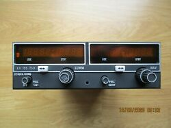 King Kx-155 Nav/com With G/s, 069-1024-42 14v Gs, Fresh From Repair And Tune-up