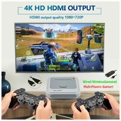 Console Tv Toys With 50000 Games Wirelless Controllers 4k Hd Arcade Video Games