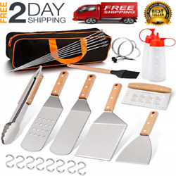 Bbq Set Blackstone Grill Accessories Kit 27pcs Griddle Barbecue Tools Outdoor 1