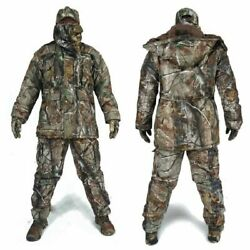 Tactical Clothing Camouflage Winter Hoodie Jacket Pants Combat Military Hunting