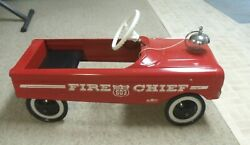 Amf Fire Chief 503 Pedal Car Fire Engine - Local Pickup Only