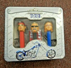 Pez Orange County Choppers Pez Candy Dispenser Set Collectible New Sealed