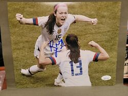 Rose Lavelle Signed 8x10 Usa Womenand039s Soccer Photo