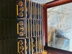 Presidential Dollar Coin Uncirculated And Proof Sets 2007 - 2013.