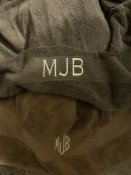 Towels Embroidered Mjb From Celebrity Mary J Blige Personal Estate Smells Sweet
