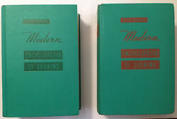 Meta Givenandrsquos Modern Encyclopedia Of Cooking Vol 1 And 2 Vtg 1959 Cookbook Set
