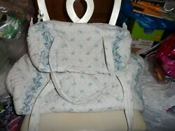 Vera Bradley X-large And Small Duffel Bag Set In Retired Watercolor Pattern