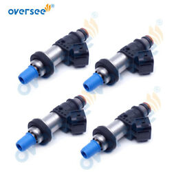 4pcs 16406-zw5-000 Fuel Injector For Honda Outboard Mp7770 4 Stroke Bf115-130hp