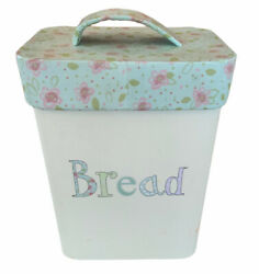 Retro Mands Stationary Storage Bread Bin Holding Paper Notes And Pencil Set.