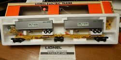 Lionel 6-16363 Southern T.t.u.x. Articulated Cars With Trailers Used In Box Lqqk