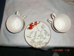 Charter Club Casuals Summer Grove Plates,. Cups, Serving Dishes, Etc.