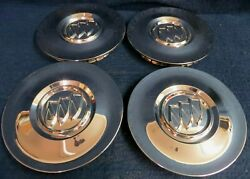 Buick Enclave 10-15 Chrome Center Caps -set 4 - Fits The 19 And 20 9 Spoke Wheel