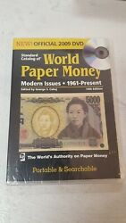 Standard Catalog Of World Paper Money 1961 To Present 14th Edition Dvd New