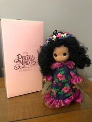 Precious Moments Children Of The World Doll Hawaii Keiki-lani With Box