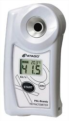 Atago Handy Pocket Alcohol Concentration Refractometer Pal-brandy From Japan F/s